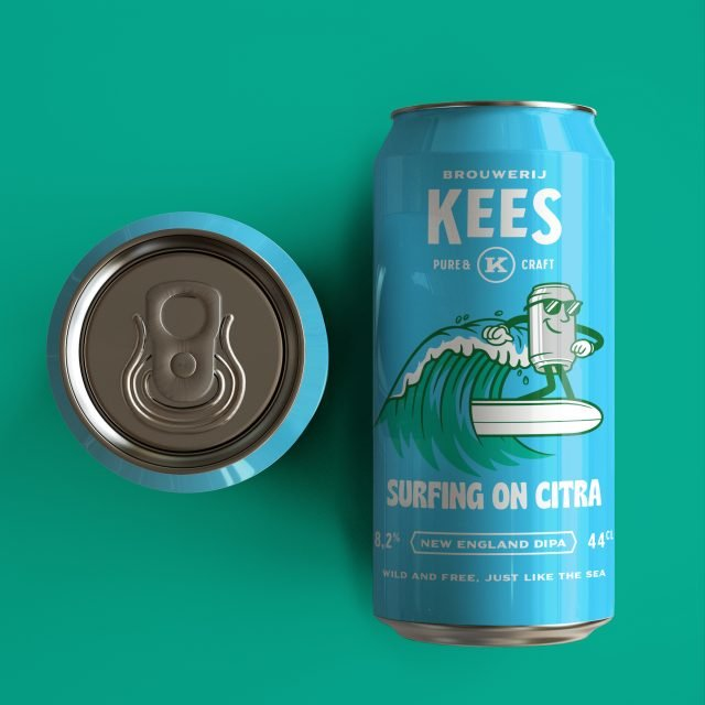 Close your eyes and imagine yourself on the sunny coast with our new beer Surfing on Citra. This Double NEIPA is packed with hoppy fruity flavours combined with a velvety aftertaste. The Citra hop profile provides flavors and aromas of citrus, passion fruit and melon. A delicious beer to escape the cold autumn days, available via link in bio.
